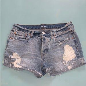 BDG Tomgirl Jean shorts 26